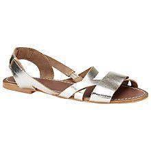Buy John Lewis Gooseberry Leather Sandals Online at johnlewis.com
