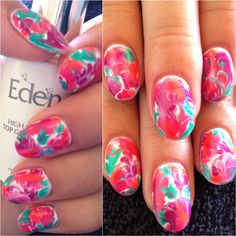 #thenailgenius #melbourne #nail #art #nailart #polish #marble #marblenailart