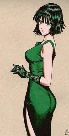 Andromeda Computer - Fubuki FanArt : The best images Chica Anime Manga, Anime One, Anime Art Girl, Manga Girl, Kawaii Anime, One Punch Man Funny, One Punch Man Manga, Female Characters, Anime Characters
