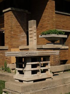 Darwin D. Martin House. Frank Lloyd Wright. 1903-5. Buffalo, New York. Prairie Style