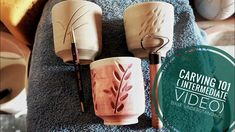 Carving understanding the base Pottery Lessons, Free Jazz, Pottery Videos, Carving, Base, Ceramics, Youtube, Tutorials, Clay