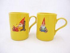 Yellow Gnome mugs!!!!