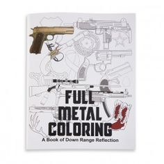 More than just a coloring book, Full Metal Coloring seeks to inform as well as entertain.