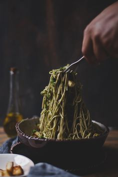 Soba Noodle with Chimichurri & Paneer | Playful Cooking #vegetarian #recipe
