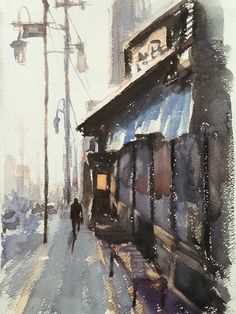 Watercolor by Nara