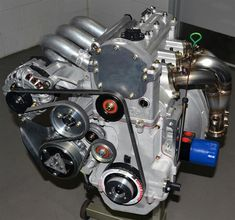 The engine is ready for testing.