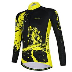 Aogda Cycling Jersey Short Sleeve Men Bike Bicycle Clothing Shirts Bib Shorts Cycle Skinsuits Wear,D196 (R-Shirts Warmth 06, S). Unique Design, Perfect for cycling riding racing or camping outdoor sports. Breathable PN Mesh Fabric design for the jersey with good function for keeping drying and cooling. Pocket on the back of jersey, convenience for carrying your personal stuff when cycling. Padded: 3D Cushion Padded Shorts Tights Material: 80% POLYESTER, 20% SPANDEX. Definitely worth the…