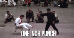Master Bruce and the one inch punch