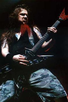 Dimebag Darrell, hands down, my favorite guitarist of all time... RIP