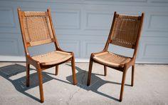 San Jose: Pair of Mid Century Chairs $275 - http://furnishlyst.com/listings/1008716