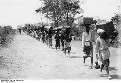 Exode de paysans durant la période coloniale allemande au Cameroun
