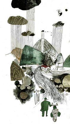 20110703自由副刊 | 神木村的郵差/古蒙仁