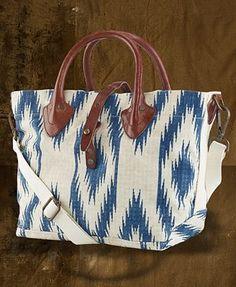 Denim & Supply Ralph Lauren Southwestern-Print Canvas Shoulder Bag