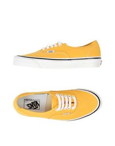 VANS Sneakers.  vans  shoes  sneakers Yellow Vans f31ee5afc