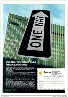 Original-Werbung/ Anzeige 1969 - IMMOBILIEN / GRAMCO - ca. 180 x 240 mm