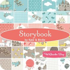 Storybook Fat Quarter BundleKate & Birdie for Moda Fabrics - Fat Quarter Bundles | Fat Quarter Shop