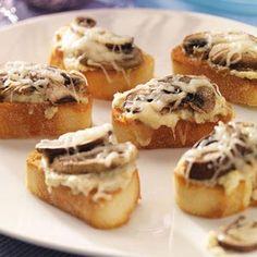 Artichoke & Mushroom Toasts Recipe