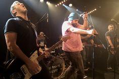Soirée Burning Heads à La Maroquinerie (Paris) avec des membres de Drive Blind, Condense, Parkinson Square/Garlic Frog Diet, Les Thugs, Sixpack...