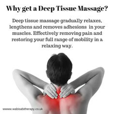 Why get a Deep Tissue Massage? It feels good and it is beneficial to your health. When muscles are s Massage Tips, Massage Quotes, Massage Benefits, Good Massage, Massage Techniques, Massage Therapy, Massage Room, Health Benefits, Massage Business