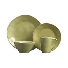 Marin Green Dinnerware