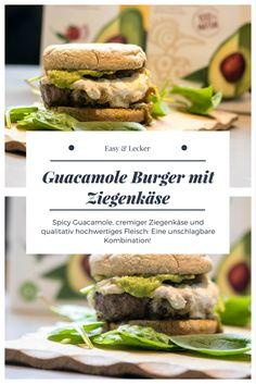 Comfort Zone - Guacamole Burger mit Ziegenkäse - Comfort Zone