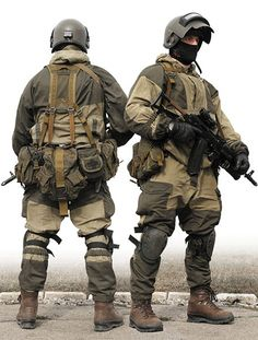 Russian Infantry - Special Forces? Gorkas - Russian Mountain Suit