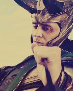 Tom Hiddleston as the wonderful Loki