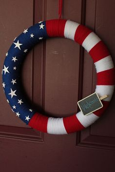 My Memorial Day Wreath