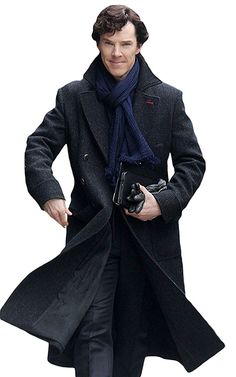 Looking for Sherlock Holmes Benedict Cumberbatch Charcoal Grey Black Wool Long Trench Coat Jacket ? Check out our picks for the Sherlock Holmes Benedict Cumberbatch Charcoal Grey Black Wool Long Trench Coat Jacket from the popular stores - all in one. Black Winter Coat, Black Wool, Sherlock Coat, Sherlock Outfit, Sherlock Bbc, Sherlock Fashion, Funny Sherlock, Mens Leather Coats, Leather Jackets