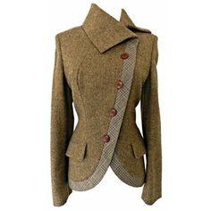 Clothes / alexander mcqueen wool riding jacket