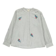 Antonia Embroidered Check Blouse Soeur Teen Children Adult- A large selection of Fashion on Smallable, the Family Concept Store - More than 600 brands.