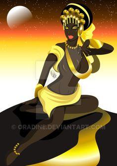 Estrela de Oxum by Oradine on DeviantArt