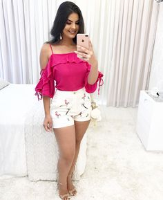 Pink Outfits, Cute Summer Outfits, Night Outfits, Short Outfits, Short Dresses, Casual Outfits, Cute Outfits, Fashion 2017, Fashion Dresses