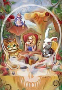 Alice In Wonderland Stealie
