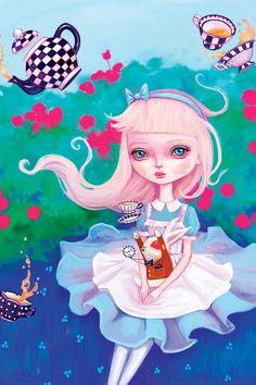 """""""Alice In Wonderland"""" by Melanie Schultz"""