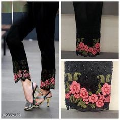 Checkout this latest Trousers & Pants Product Name: *Embroidered 100% Pure stretchable cotton Pant* Fabric: 100% Pure stretchable cotton  Waist Size:  L - 28 to 34 in Xl - 34 to 40 in XXl - 38 to 46 in  Length: Up To 38 in Type: Stitched Description: It Has 1 Piece Of Pants Work: Embroidered Country of Origin: India Easy Returns Available In Case Of Any Issue   Catalog Rating: ★4 (4229)  Catalog Name: Stylish Embroidered 100% Pure stretchable cotton Pants Vol 5 CatalogID_389651 C74-SC1016 Code: 454-2867965-3531