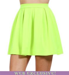#Windsor                  #Skirt                    #Neon #Yellow #Back #Zipper #Skirt                  Neon Yellow Back Zipper Skirt                                                 http://www.seapai.com/product.aspx?PID=1734908