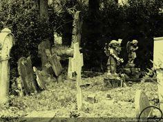 At Cimitero Monumentale di Staglieno.