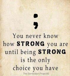 Semicolon Inspiring Quotes. QuotesGram