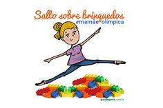 Divertida e criativa: conheça a série de ilustrações Mamãe Olímpica