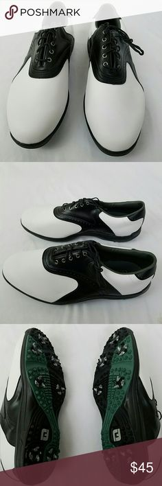 Men's Footjoy Greenjoys Golf Shoes NEW Men's Footjoy Greenjoys spiked golf shoes. Brand new never used NWOT. Size 12W FootJoy Shoes Athletic Shoes