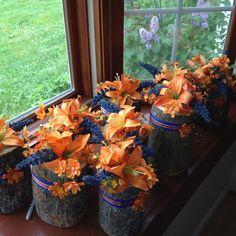 Centerpieces I made for bridal shower... Thinking of making things to sell on etsy what do you think?