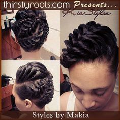 Keyshia Cole Pinned Up Curl Hairstyle Pinterest Updo