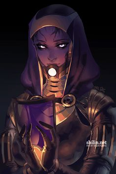 Tali'zorah vas Normandy - rough piece for Patreon by shilin Joan of Arc female paladin knight cleric druid fighter platemail armor clothes clothing fashion player character npc | Create your own roleplaying game material w/ RPG Bard: www.rpgbard.com | Writing inspiration for Dungeons and Dragons DND D&D Pathfinder PFRPG Warhammer 40k Star Wars Shadowrun Call of Cthulhu Lord of the Rings LoTR + d20 fantasy science fiction scifi horror design | Not Trusty Sword art: click artwork for source