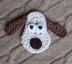 Crochet Gromit by meekssandygirl.deviantart.com
