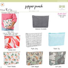 Available March 1st – August 31st, while supplies last. Trina Lovegren, Thirty-One Consultant www.trinalovegren.com Thirty One Party, Thirty One Gifts, Thirty One Organization, Thirty One Consultant, March 1st, 31 Ideas, Zipper Pouch, Gift Bags, Totes