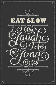 Optimism Typography by Beth Sicheneder, via Behance