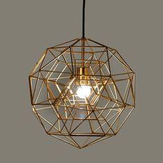 Lamp hexacomplex brass S sold by pols potten, http://vps18379.public.cloudvps.com.