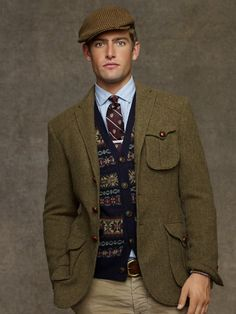 Messenger Tweed Sport Coat - Sport Coats   Men - RalphLauren.com
