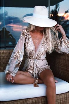 I LOVE THIS ROMPER! || Boho Inspired/Fashion/Clothing/Gorgeous Gowns & Garments ♡